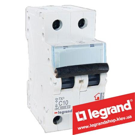 Автоматический выключатель TX3 2п 10A (Тип C) 404040
