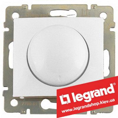 Светорегулятор поворотный Legrand Valena 40-400Вт 770061 (белый)