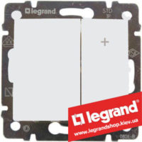 Светорегулятор кнопочный Legrand Valena 40-400Вт 770062 (белый)