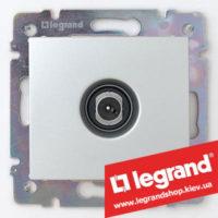 Розетка TV оконечная Legrand Valena 770130 (алюминий)