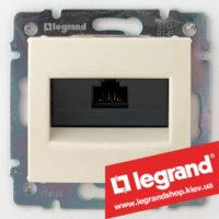 Розетка компьютерная Legrand Valena 774130 (слоновая кость)