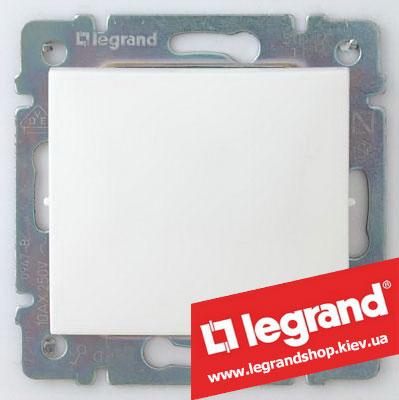 Переключатель на 2 направления Legrand Valena 10А (проходной или лестничный) 774406 (белый)
