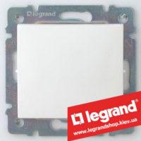 Переключатель промежуточный Legrand Valena 10А (крест) 774407 (белый)