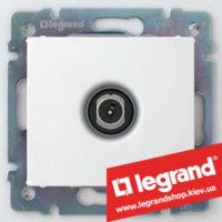 Розетка TV проходная Legrand Valena 774431 (белая)