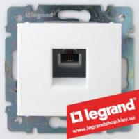 Розетка телефонная Legrand Valena 774438 (белая)