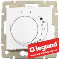 Терморегулятор для систем «Теплый пол» Legrand Valena 770091 (белый)