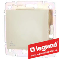 Выключатель одноклавишный Legrand Valena 10А IP44 774101 (слоновая кость)
