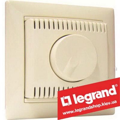 Светорегулятор поворотно-нажимной Legrand Valena 100-1000Вт 774160 (слоновая кость)