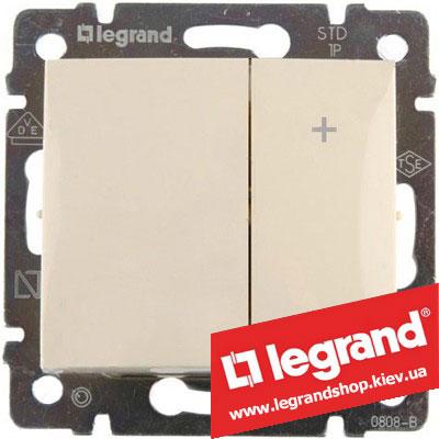 Светорегулятор кнопочный Legrand Valena 40-600Вт 774174 (слоновая кость)