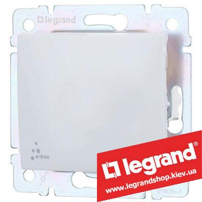 Выключатель одноклавишный Legrand Valena 10А IP44 774201 (белый)