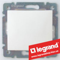 Кнопка Legrand Valena 10А 774411 (белая)