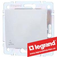 Переключатель на 2 направления Legrand Valena 10А IP44 774206 (белый)