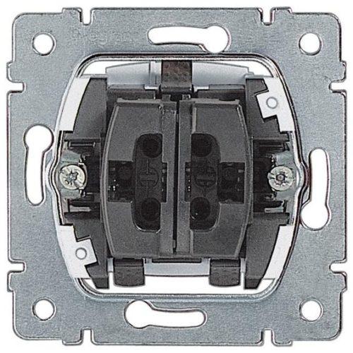 Переключатель на 2 направл. двухклавишный 10А 775808