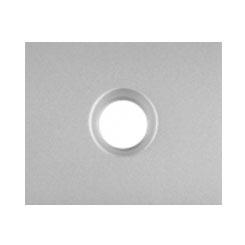 Панель розетки TV 771366 (алюминий)