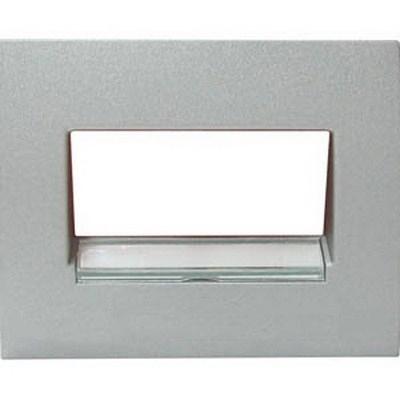 Накладка компьютерной розетки Legrand Galea Life Aluminium (арт.771375)