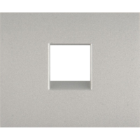 Накладка телефонной розетки 1хRJ11 Legrand Galea Life Aluminium (арт.771395)
