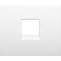 Лицевая панель для инф. розеток 777095 (белая)