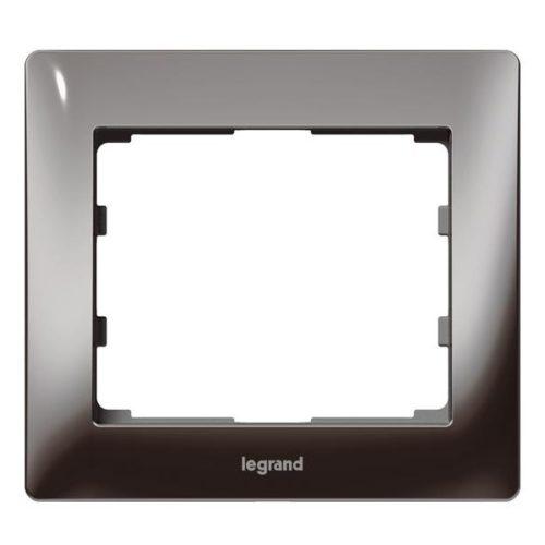Рамка одно постовая 771941 (черный никель) купить Legrand Galea Life в Киеве