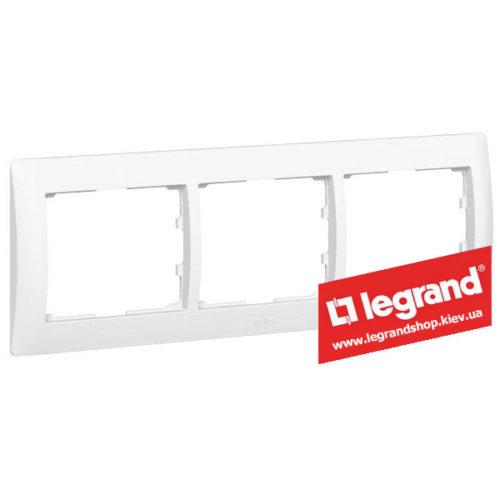 Рамка 3-я Legrand Galea Life 771003 (белая)