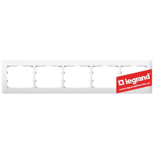 Рамка 5-я Legrand Galea Life 771005 (белая)