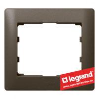Рамка 1-я Legrand Galea Life 771201 (темная бронза)