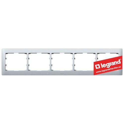 Рамка 5-я Legrand Galea Life 771305 (алюминий)