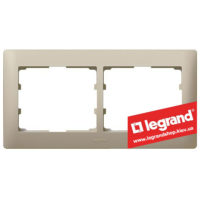 Рамка 2-я Legrand Galea Life 771402 (титан)