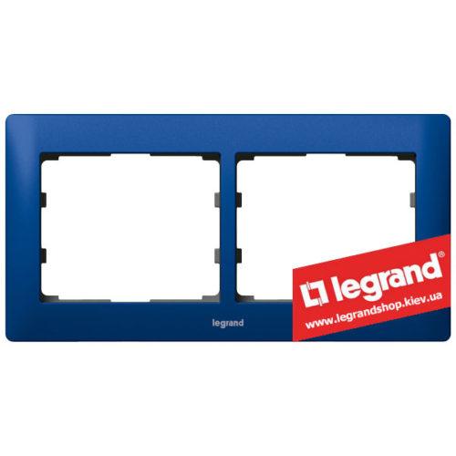 Рамка 2-я Legrand Galea Life 771912 (магический синий)