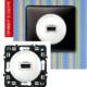 Розетка аудио-видео HDMI белая