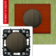 Светорегулятор 4-х клавишный 400Вт графит