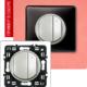 Светорегулятор 4-х клавишный 400Вт титан