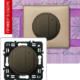 Светорегулятор 4-х клавишный 600Вт графит