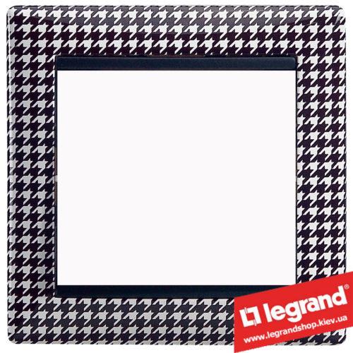 Рамка однопостовая Legrand Valena 770420 (гусиные лапки)