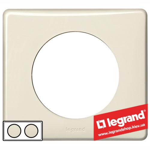 Рамка 2-я Legrand Celiane 66622 (слоновая кость)