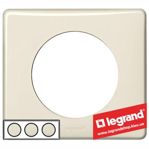 Рамка 3-я Legrand Celiane 66623 (слоновая кость)
