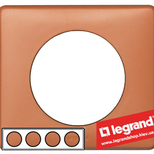 Рамка 4-я Legrand Celiane 68654 (корица)