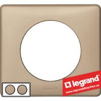Рамка 2-я Legrand Celiane 68662 (имбирь)