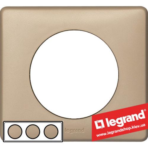 Рамка 3-я Legrand Celiane 68663 (имбирь)