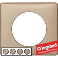 Рамка 4-я Legrand Celiane 68664 (имбирь)