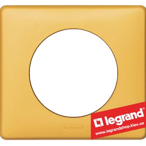 Рамка 1-я Legrand Celiane 68671 (шафран)
