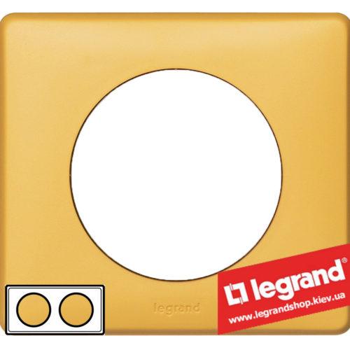 Рамка 2-я Legrand Celiane 68672 (шафран)