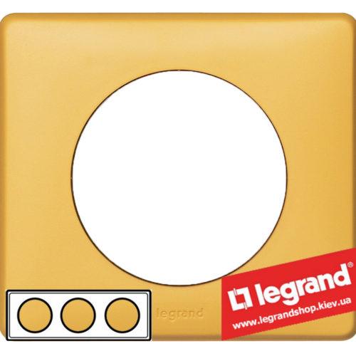 Рамка 3-я Legrand Celiane 68673 (шафран)