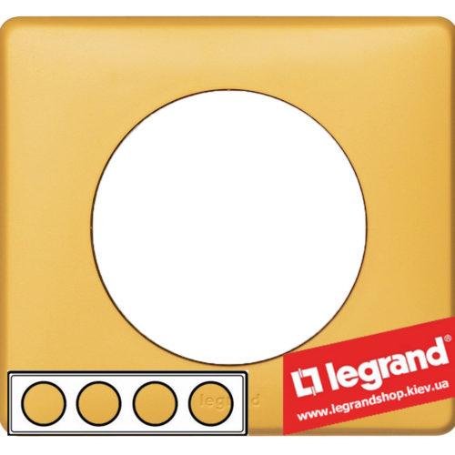 Рамка 4-я Legrand Celiane 68674 (шафран)