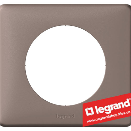Рамка 1-я Legrand Celiane 68731 (норка)