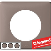 Рамка 3-я Legrand Celiane 68733 (норка)
