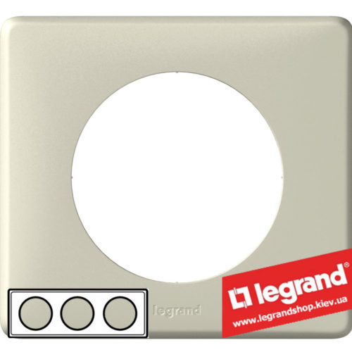 Рамка 3-я Legrand Celiane 68753 (светло-бежевый)