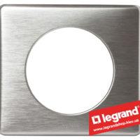 Рамка 1-я Legrand Celiane 68921 (алюминий)
