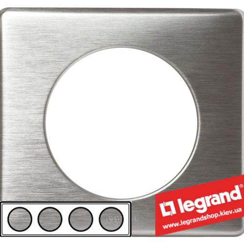 Рамка 4-я Legrand Celiane 68924 (алюминий)
