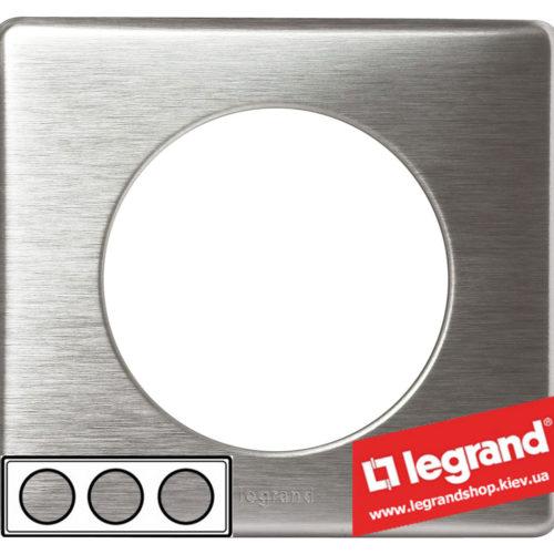 Рамка 3-я Legrand Celiane 68923 (алюминий)