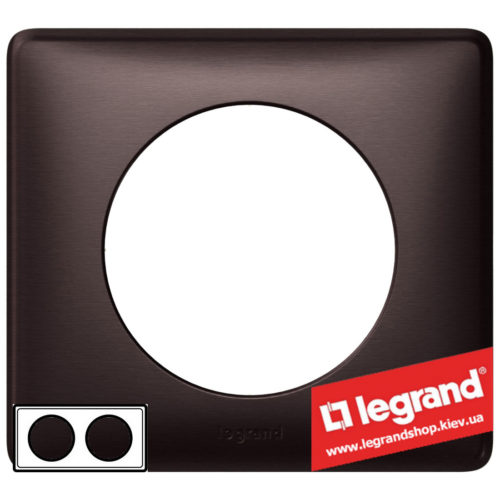 Рамка 2-я Legrand Celiane 68932 (графит)